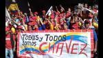 Hugo Chávez recibió un masivo respaldo del oficialismo venezolano y sus seguidores - Noticias de argentina