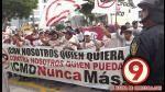 Hinchas de Universitario realizaron una marcha en contra de CMD - Noticias de